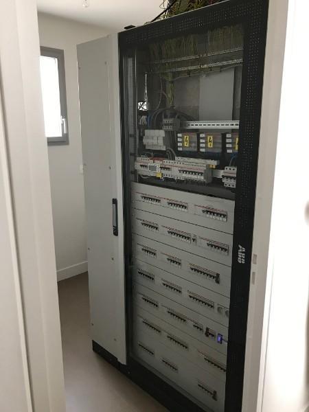 Réalisation d'une armoires électrique près de Marseille, Monaco